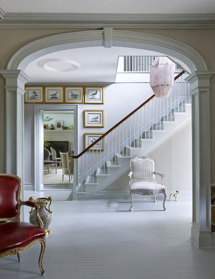 Ghi lại ngay vài tuyệt chiêu trang trí để lối hành lang của gia đình không còn nhàm chán - Ảnh 5.