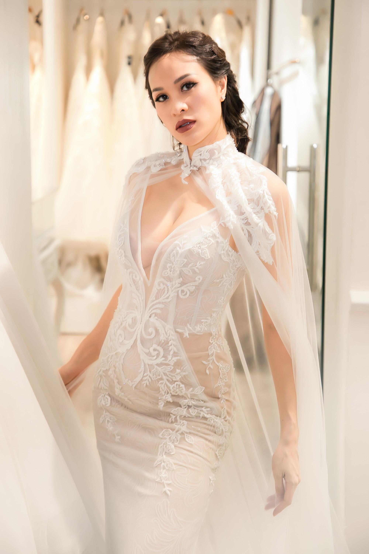 """Gấp rút chụp hình cưới, lộ vòng 2 to bất thường, Mai Phương bị nghi """"cưới chạy bầu"""" và đây là câu trả lời của cô - Ảnh 4."""
