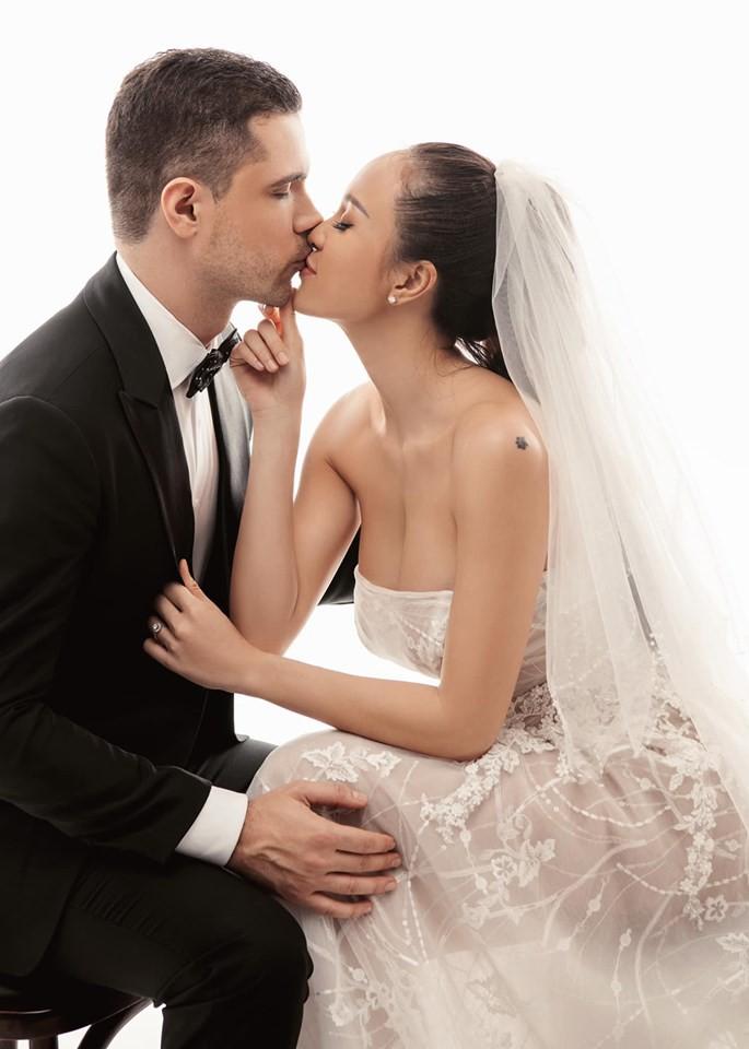 """Gấp rút chụp hình cưới, lộ vòng 2 to bất thường, Mai Phương bị nghi """"cưới chạy bầu"""" và đây là câu trả lời của cô - Ảnh 2."""