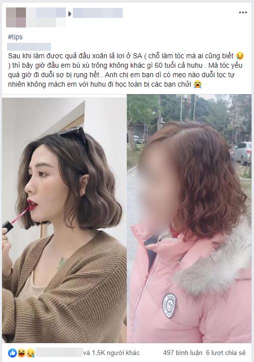 Thêm 1 ca làm tóc khiến chị em gật gù: Tình chỉ đẹp khi còn dang dở, đầu chỉ đẹp khi còn ở salon - Ảnh 1.