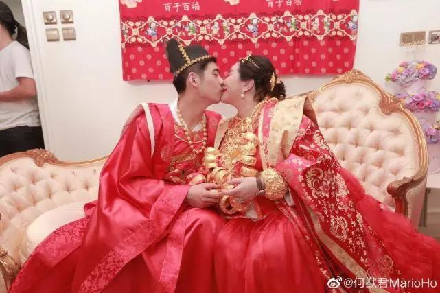 Sau lễ dạm ngõ trĩu cổ với vàng ròng, thiên kim sòng bạc Macau nặng nề với bụng bầu sinh đôi, lộ nhẫn kim cương khủng - Ảnh 11.