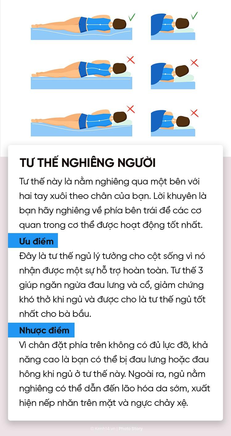 Điểm danh 6 tư thế ngủ quen thuộc để chọn riêng cho mình phương án phù hợp nhất - Ảnh 9.