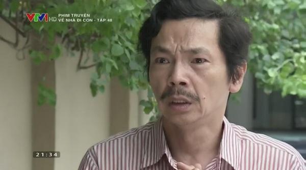 Ông Sơn khó xử với cô Hạnh vì hành động vô lễ của con gái.