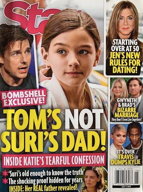 Sau bao năm, minh tinh Katie Holmes thú nhận trong nước mắt: Suri không phải con ruột của Tom Cruise? - Ảnh 1.