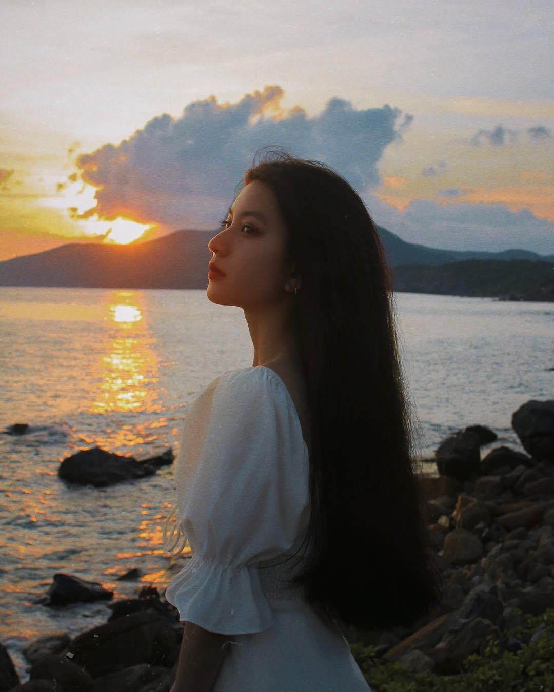 """Tưởng vì quá yêu thích địa danh này nên mới đi tận 3 lần trong một năm, nhưng girl xinh Bâu lại gây sốc khi nói """"tạm biệt người đất liền"""", muốn """"về biển"""" - Ảnh 9."""