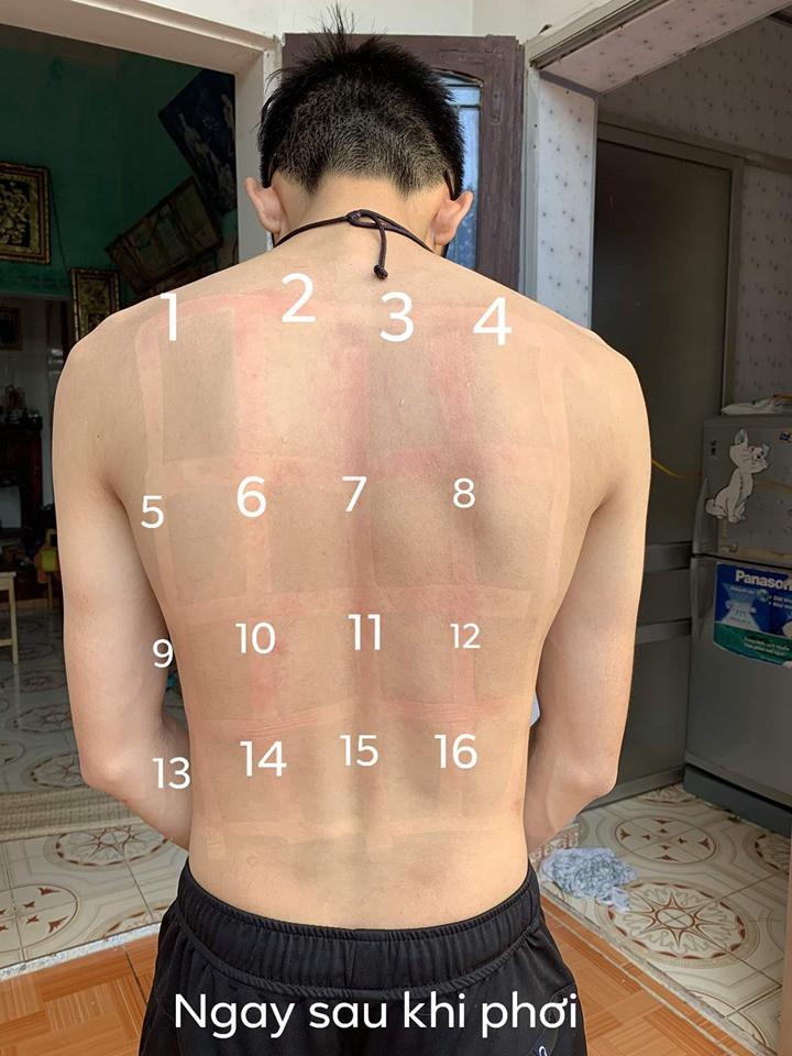"""Soái ca Việt phơi nắng để thử 15 loại kem chống nắng bình dân phổ biến, """"bạn trai quốc dân"""" là đây chứ đâu - Ảnh 3."""