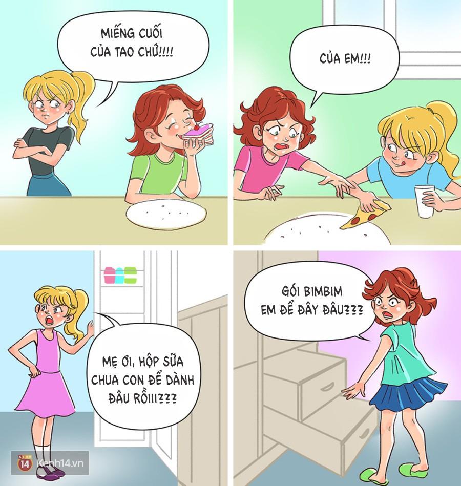 12 tình huống mà chỉ những ai có chị em gái mới hiểu! - Ảnh 13.