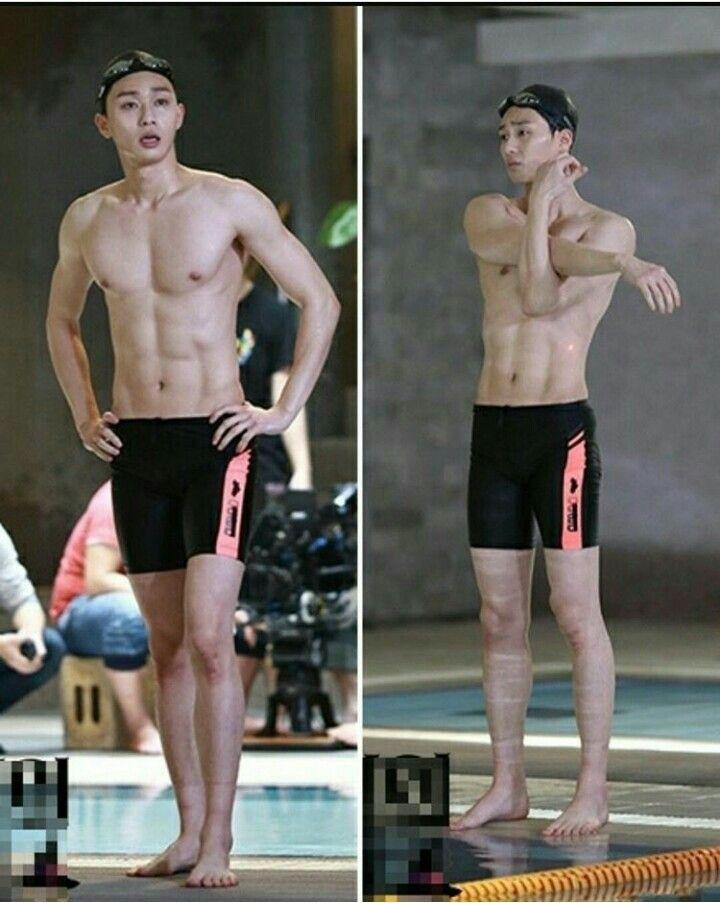 """""""Bỏng mắt cấp độ báo động"""" với body của """"phó chủ tịch"""" Park Seo Joon: Ai ngờ sau khuôn mặt thư sinh lại là 6 múi cực phẩm - Ảnh 8."""