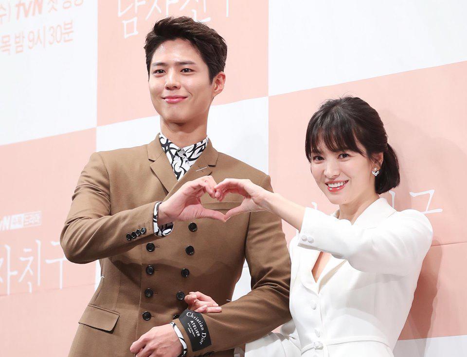 Song Joong Ki cuối cùng đã lên tiếng về tin đồn gây sốc Song Hye Kyo ngoại tình với Park Bo Gum - Ảnh 1.