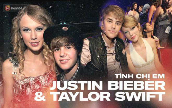 Ai ngờ trước khi cạch mặt, Taylor Swift và Justin Bieber đã từng thân đến mức tưởng chị chị em em mãi mãi bền lâu - Ảnh 1.