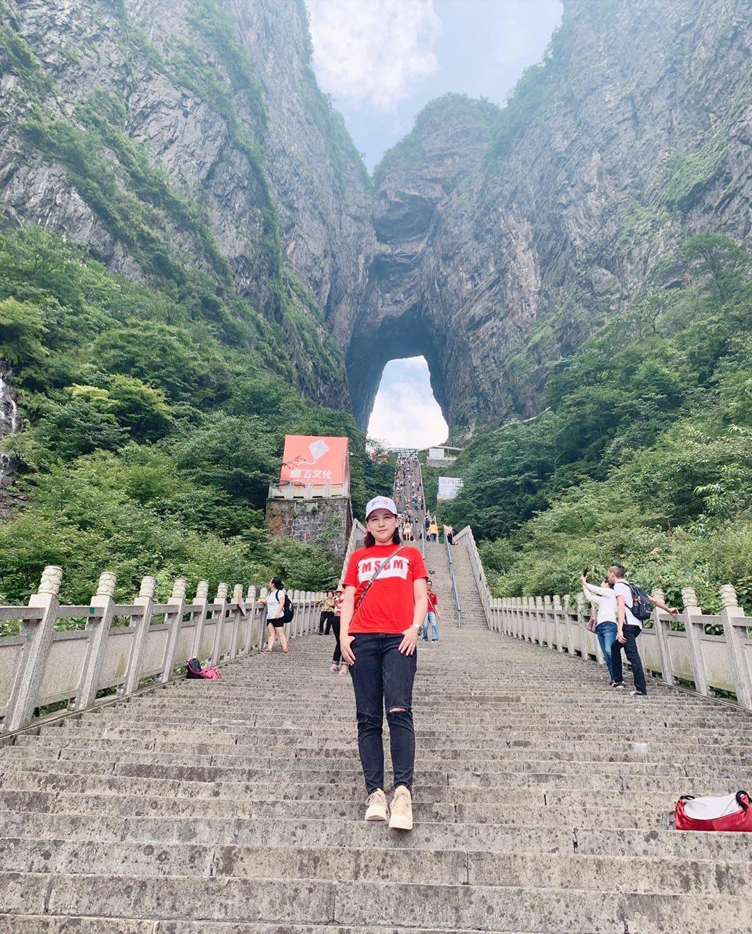 Thiên Môn Sơn - Đường lên cổng trời ở Trung Quốc khiến hội yếu tim phải khóc thét với 99 khúc cua dựng đứng - Ảnh 15.