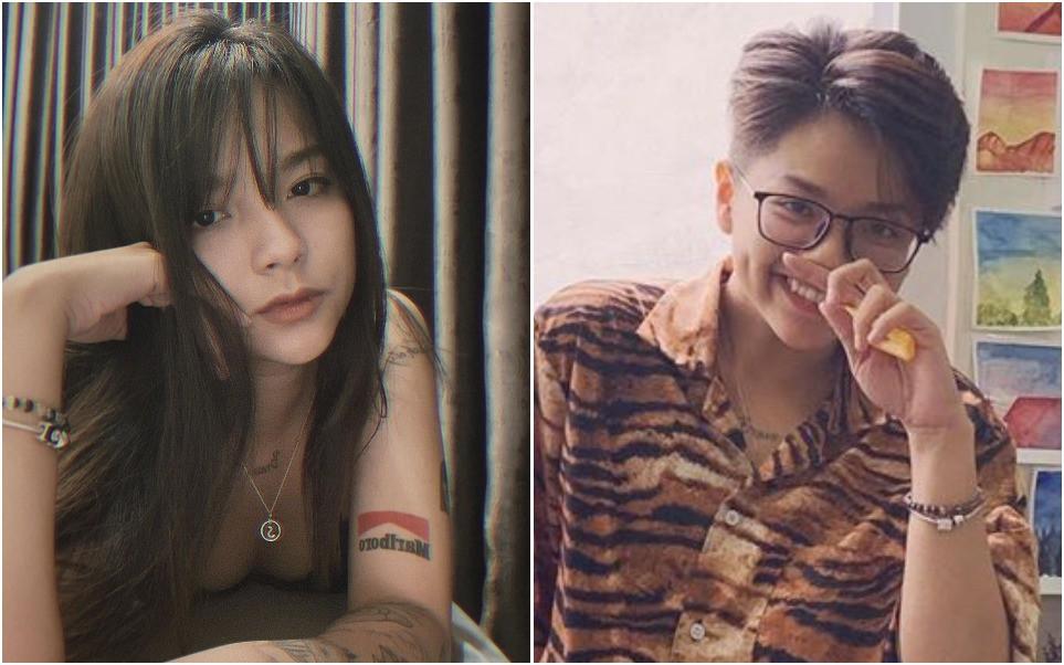 """Bạn gái cũ Cris Phan gây shock khi cắt phăng mái tóc dài, """"chơi lớn"""" với hình tượng y như bad boy - Ảnh 4."""