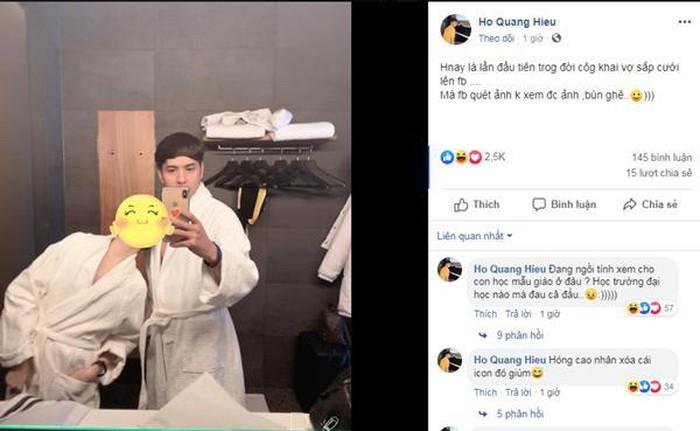 Hồ Quang Hiếu công khai vợ sắp cưới nhưng cố tình che mặt, dân mạng chỉ ra chi tiết khẳng định chẳng còn ai ngoài Bảo Anh