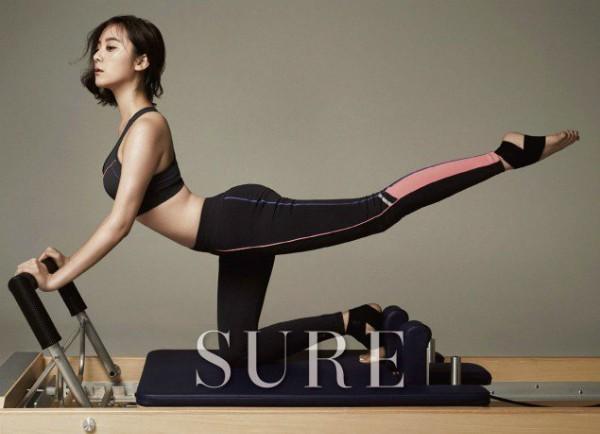 Đâu chỉ Jennie hay Rose (BLACKPINK), rất nhiều sao Hàn khác cũng chọn tập Pilates để giữ dáng - Ảnh 8.