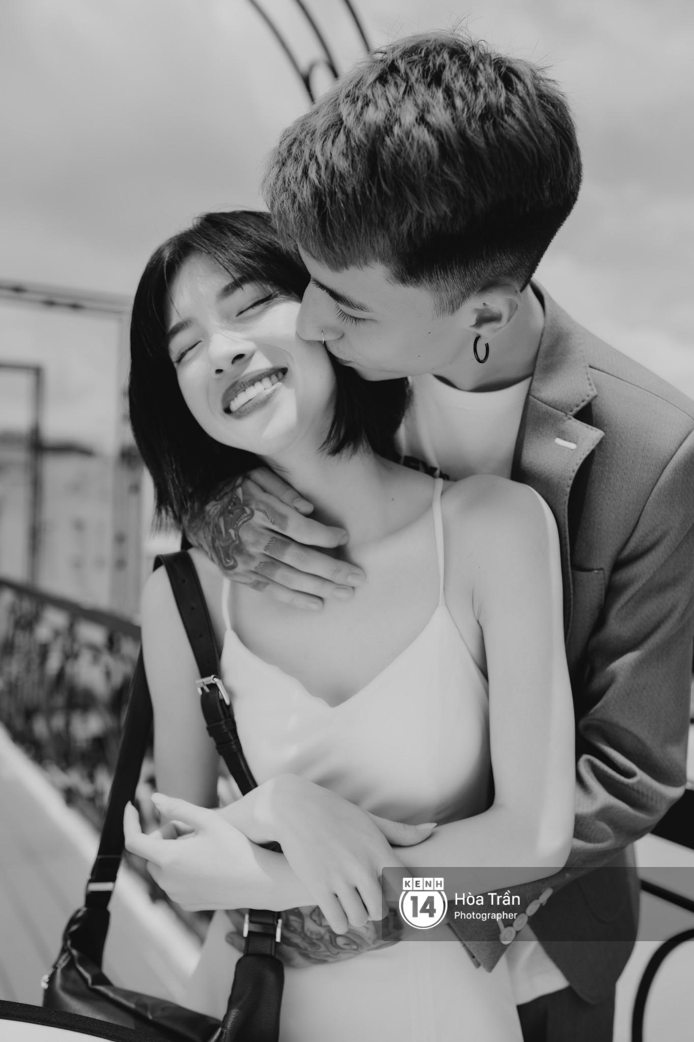 Couple hot boy lai tây và mẫu lookbook nổi tiếng Sài Thành: Chuyện tình chị - em kém 4 tuổi, yêu nhau nhờ thả haha trên Facebook - Ảnh 3.