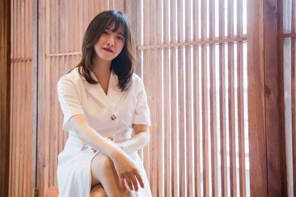 Dính tin đồn bầu bí vì béo trông thấy, nàng cỏ Goo Hye Sun tiết lộ tăng 13kg và không thể giảm cân vì chồng trẻ - Ảnh 1.