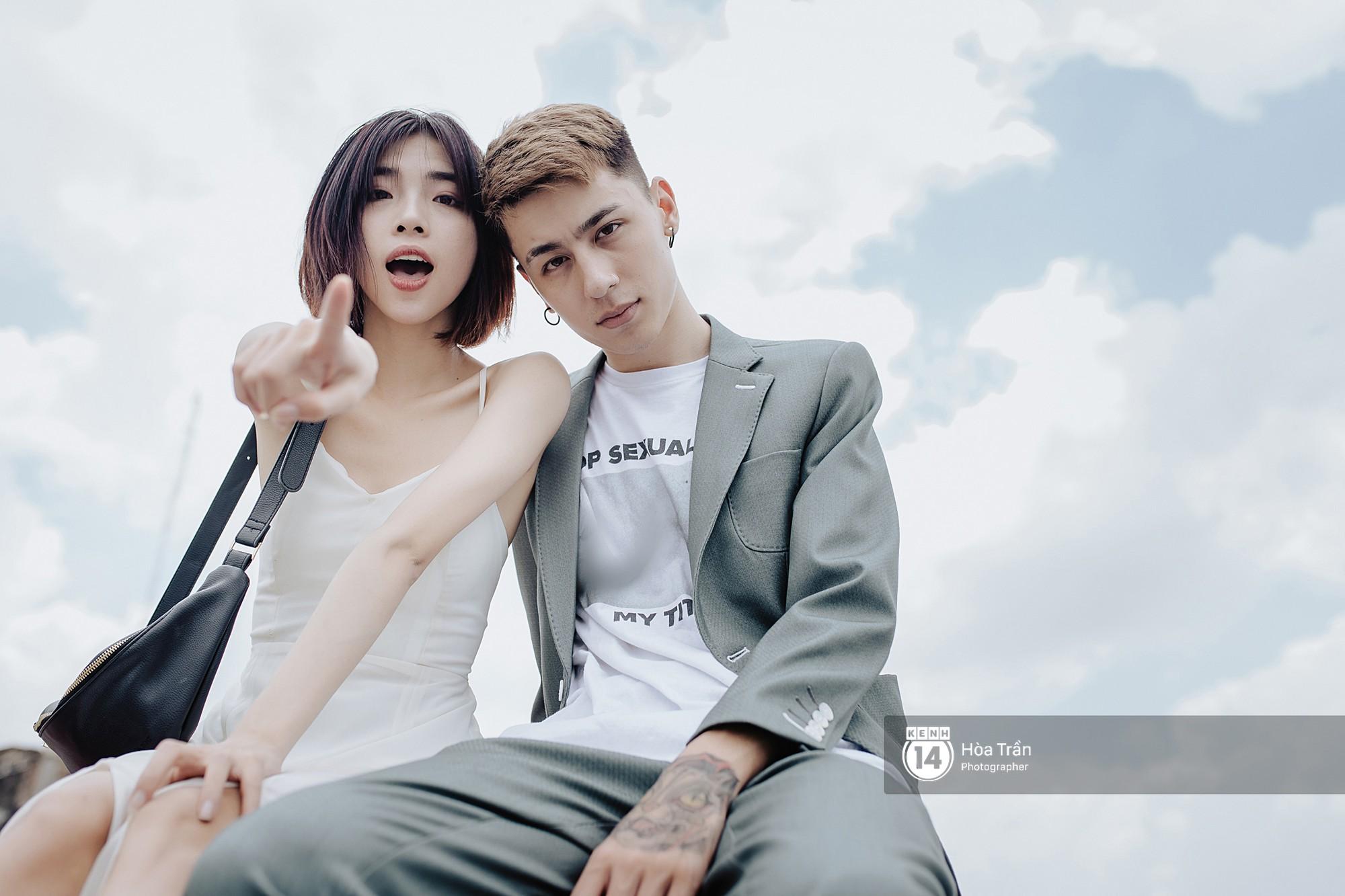 Couple hot boy lai tây và mẫu lookbook nổi tiếng Sài Thành: Chuyện tình chị - em kém 4 tuổi, yêu nhau nhờ thả haha trên Facebook - Ảnh 5.