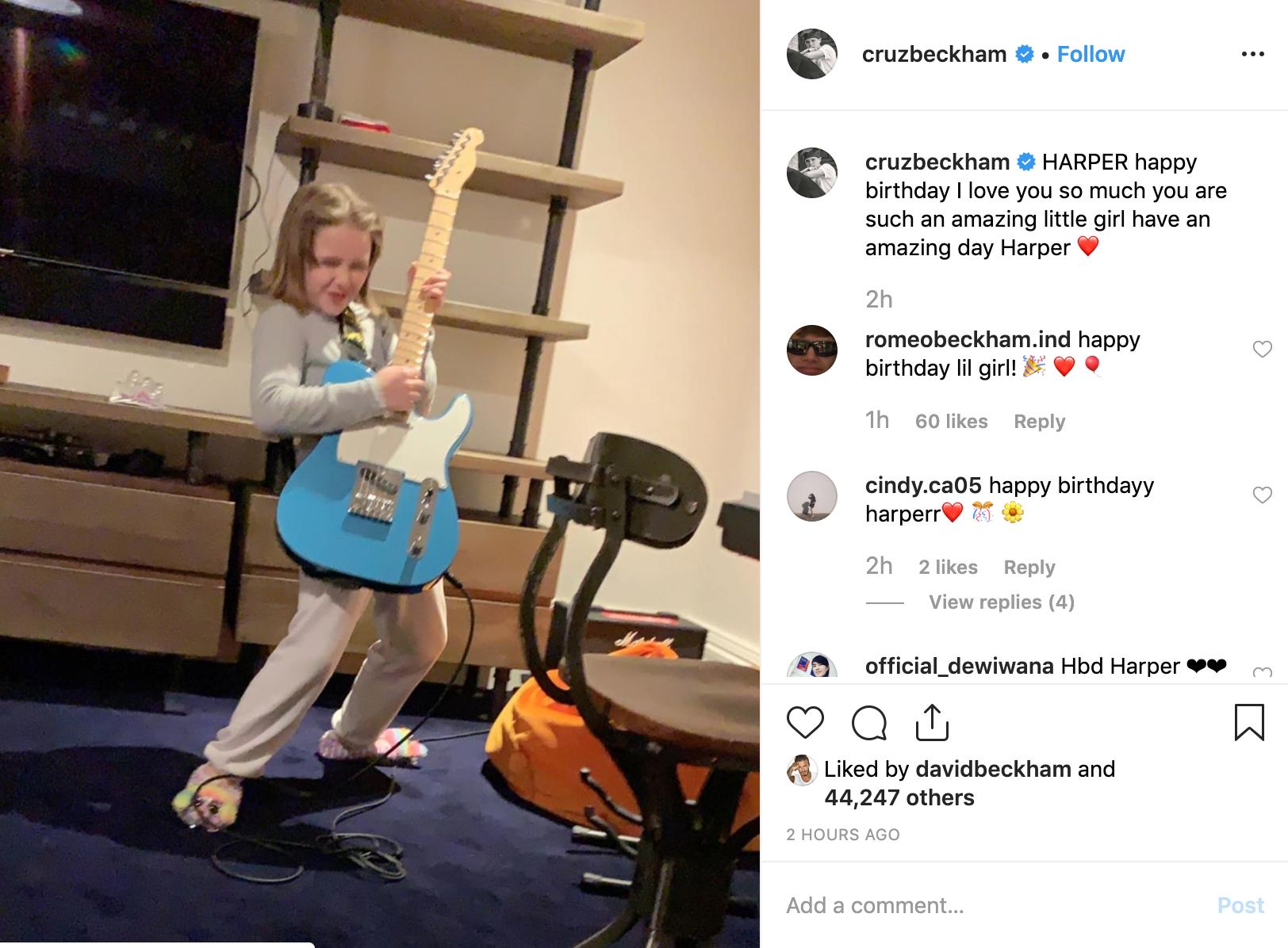 Cả nhà Beckham đăng ảnh chúc mừng sinh nhật Harper 8 tuổi, nhan sắc rực rỡ đáng yêu của cô bé gây chú ý - Ảnh 5.