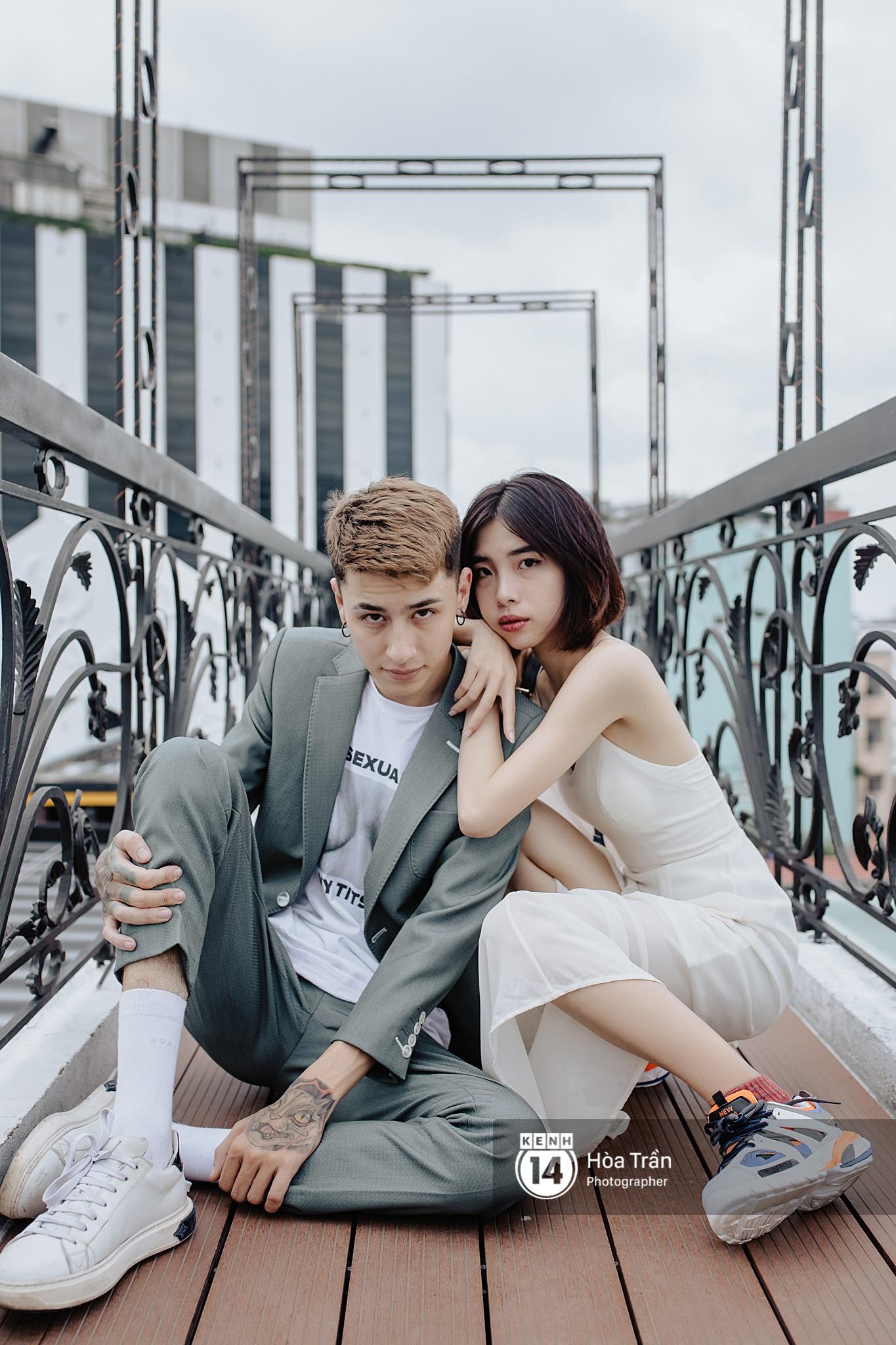 Couple hot boy lai tây và mẫu lookbook nổi tiếng Sài Thành: Chuyện tình chị - em kém 4 tuổi, yêu nhau nhờ thả haha trên Facebook - Ảnh 8.