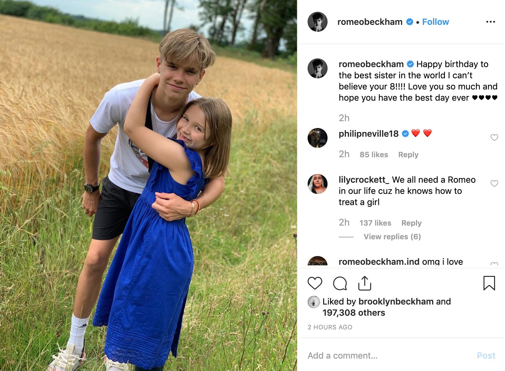 Cả nhà Beckham đăng ảnh chúc mừng sinh nhật Harper 8 tuổi, nhan sắc rực rỡ đáng yêu của cô bé gây chú ý - Ảnh 4.
