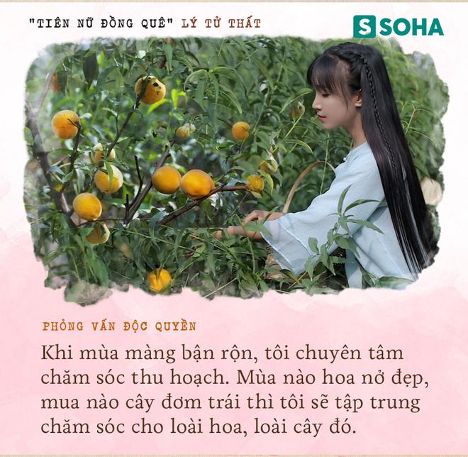 Lý Tử Thất trả lời độc quyền báo Việt Nam, hé lộ cuộc sống thực sau những hình đẹp như tiên cảnh - Ảnh 9.