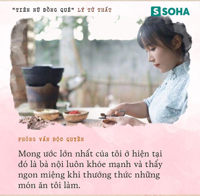 Lý Tử Thất trả lời độc quyền báo Việt Nam, hé lộ cuộc sống thực sau những hình đẹp như tiên cảnh - Ảnh 18.