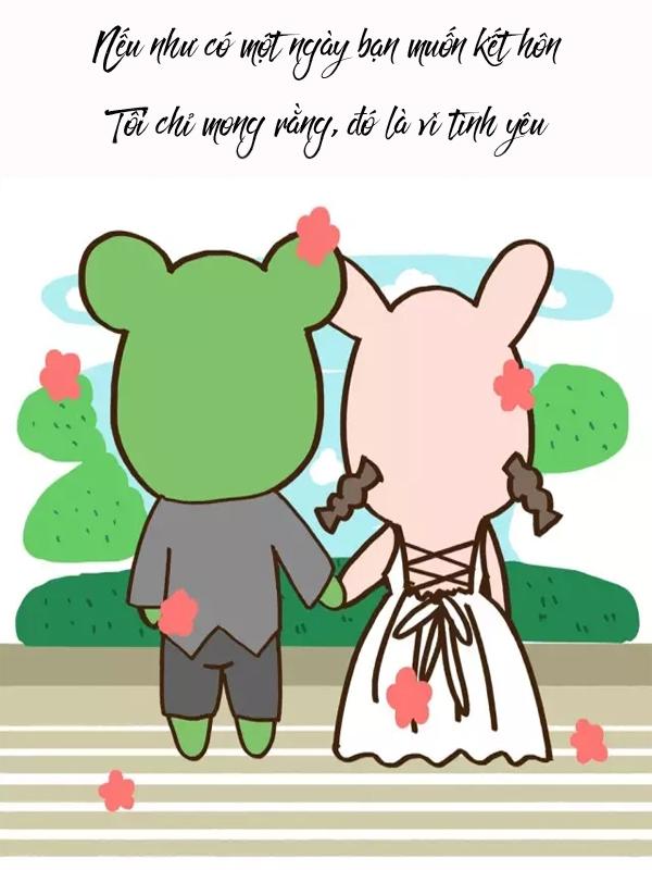 Lý do để bạn quyết định kết hôn là vì 'nghe theo tiếng gọi con tim' hay một điều gì khác? 9