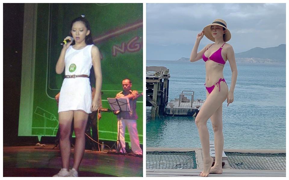 Loạt sao và hot girl Việt cho thấy: cứ chăm tập đi, bạn sẽ có màn Before - After khiến dân tình tròn mắt - Ảnh 12.