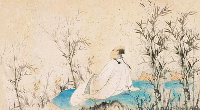 Lưu Vũ Tích phải chuyển nhà ba lần, nhà ở ngày càng nhỏ đi, cuối cùng chỉ còn một gian phòng nhỏ, trong hoàn cảnh như thế ông đã sáng tác bài