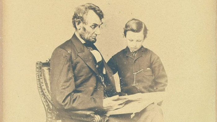 Chân dung Abraham Lincoln.