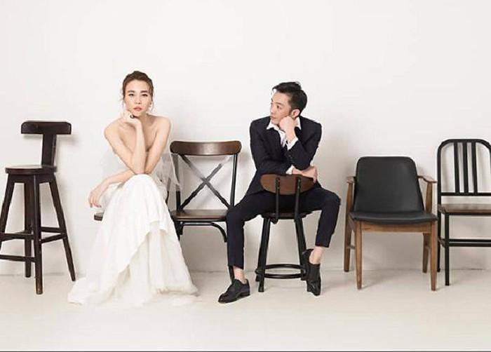 Cường Đô La khoe ảnh cưới cùng Đàm Thu Trang, Huyền Lizzie gây sock khi 'chơi lớn'