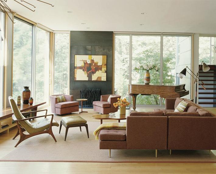 Nhìn xem bạn có thể học hỏi được rất nhiều từ những căn phòng khách có thiết kế hoàn hảo này - Ảnh 6.