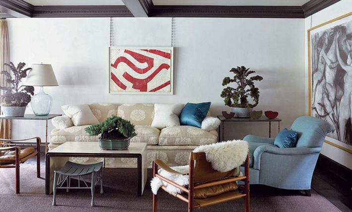 Nhìn xem bạn có thể học hỏi được rất nhiều từ những căn phòng khách có thiết kế hoàn hảo này - Ảnh 11.