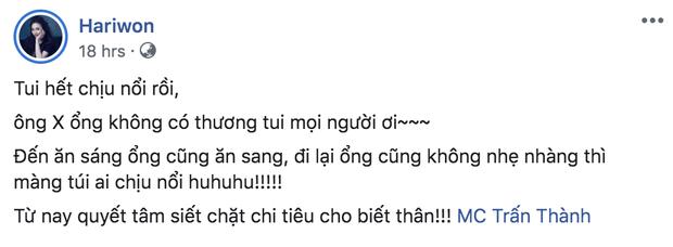 Mệt thay cho nhà Trấn Thành - Hari Won: Vợ thắt chặt chi tiêu, chồng quyết tâm tuyên chiến vì chiếc bụng đói! - Ảnh 3.