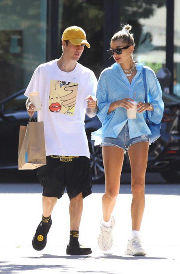 Trước tin đồn mong sớm có con với Justin Bieber, Hailey Baldwin đã có phản ứng hài hước thế này - Ảnh 2.