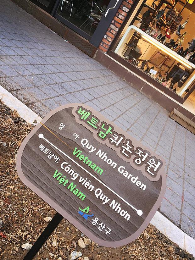 Giữa lòng thủ đô Seoul, Hàn Quốc có một con phố mang tên Việt Nam Quy Nhơn, ở ngay gần Cộng Cà phê - Ảnh 3.