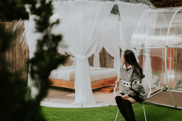 HOT: Đà Lạt lộ diện căn phòng bong bóng y hệt Bali khiến dân mạng người khen kẻ chê, đại diện resort nói gì? - Ảnh 19.