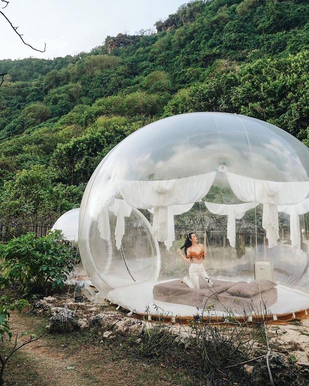 HOT: Đà Lạt lộ diện căn phòng bong bóng y hệt Bali khiến dân mạng người khen kẻ chê, đại diện resort nói gì? - Ảnh 17.