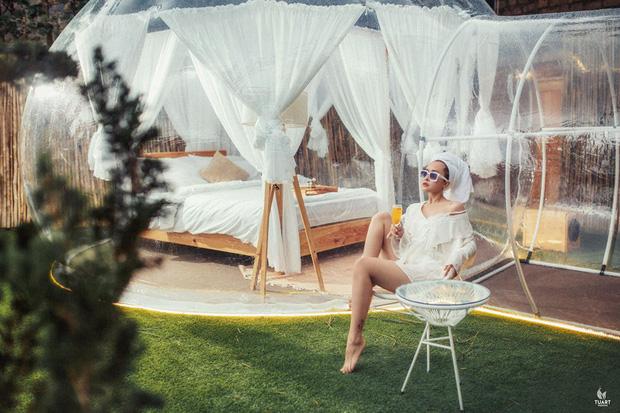 HOT: Đà Lạt lộ diện căn phòng bong bóng y hệt Bali khiến dân mạng người khen kẻ chê, đại diện resort nói gì? - Ảnh 7.