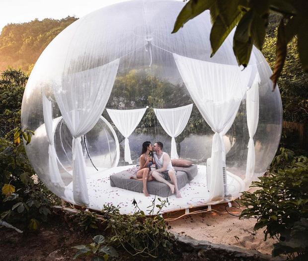HOT: Đà Lạt lộ diện căn phòng bong bóng y hệt Bali khiến dân mạng người khen kẻ chê, đại diện resort nói gì? - Ảnh 11.