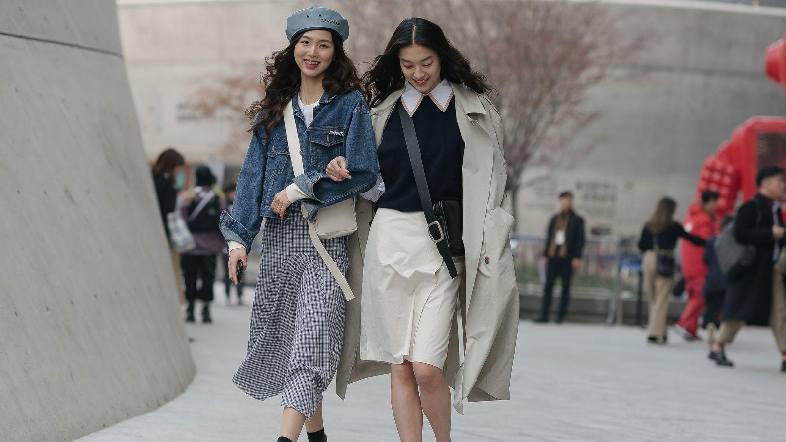 phong cách thời trang- fashionista tuần lễ thời trang seoul