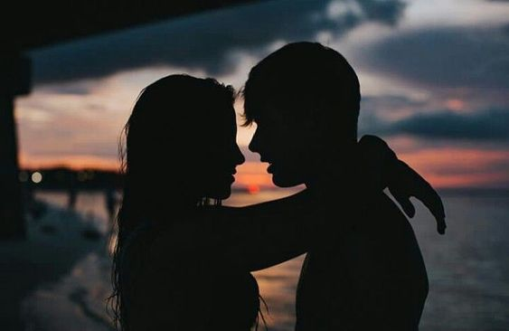 the romance sunset photo kisses and hugs love me relationship goals couple goals