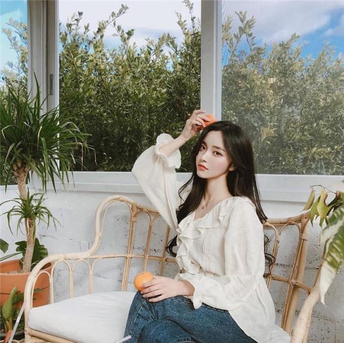 Học gái Hàn mix áo sơ mi sao cho đẹp và chuẩn nhất có thể
