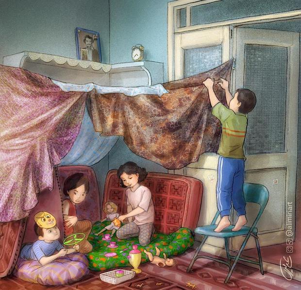 Cúp điện ùa ra sân, dựng lều trong nhà: Tuổi thơ dữ dội 8x 9x nào cũng trải qua giờ đã trở thành điều chẳng thể quay lại - Ảnh 7.