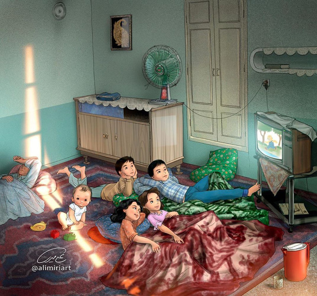 Cúp điện ùa ra sân, dựng lều trong nhà: Tuổi thơ dữ dội 8x 9x nào cũng trải qua giờ đã trở thành điều chẳng thể quay lại - Ảnh 2.