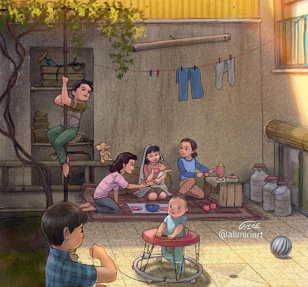 Cúp điện ùa ra sân, dựng lều trong nhà: Tuổi thơ dữ dội 8x 9x nào cũng trải qua giờ đã trở thành điều chẳng thể quay lại - Ảnh 5.
