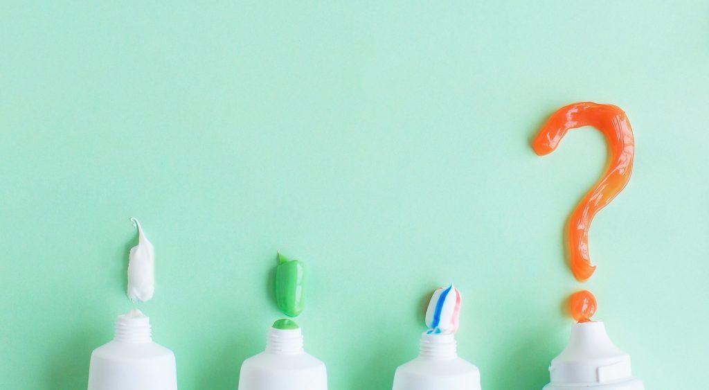 chăm sóc răng miệng - thành phần kem đánh răng