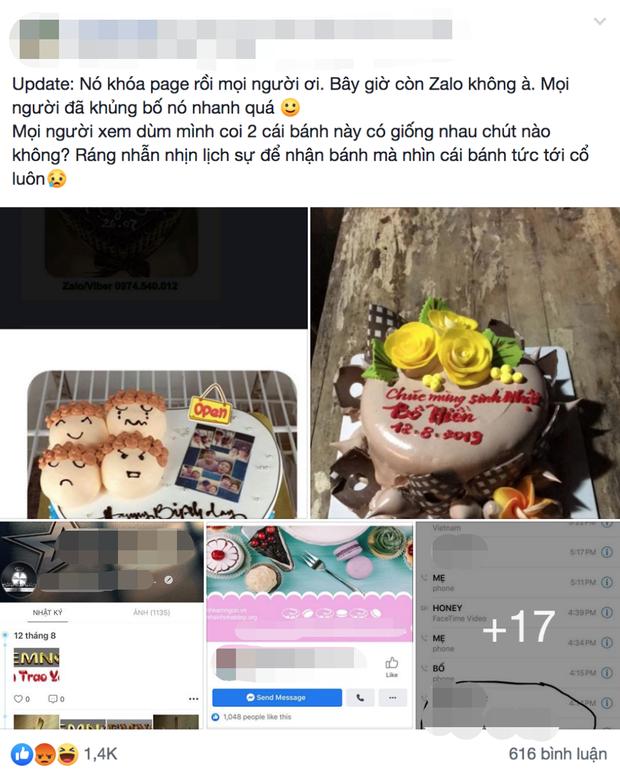 Đặt bánh kem online mừng sinh nhật bố chồng, nàng dâu ngã ngửa khi nhận được sản phẩm khác một trời một vực yêu cầu của mình - Ảnh 1.