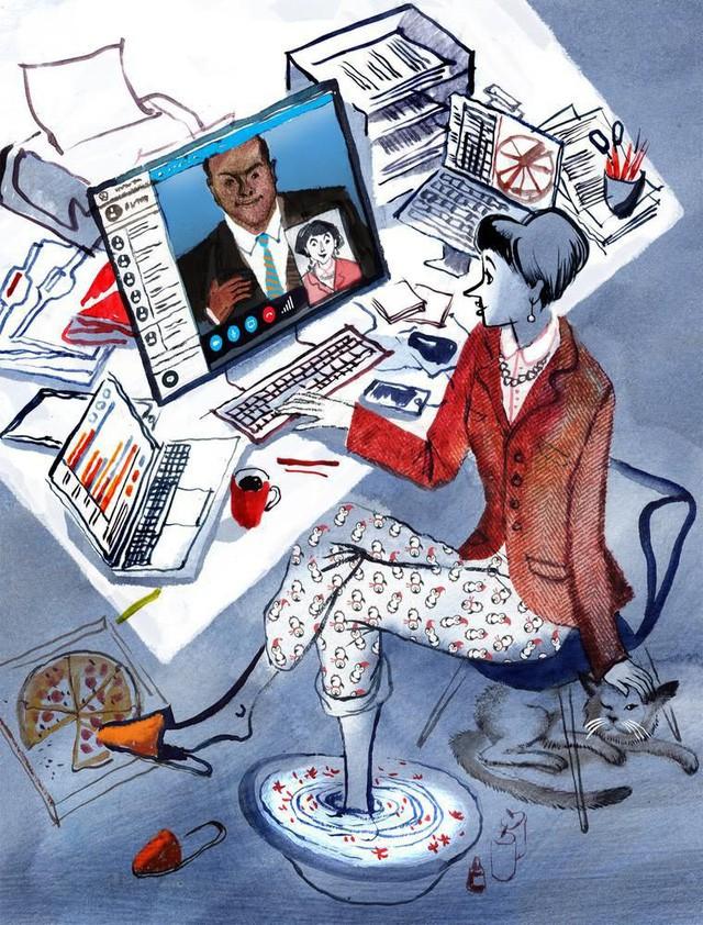 Khoa học đã chứng minh: Dân công sở năng suất hơn khi làm việc ở nhà! - Ảnh 4.