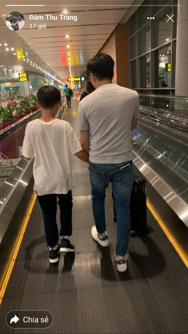Cường Đô La nhí nhảnh hết mức bên Đàm Thu Trang và con trai Subeo trong chuyến đi nghỉ đầu tiên sau đám cưới - Ảnh 3.